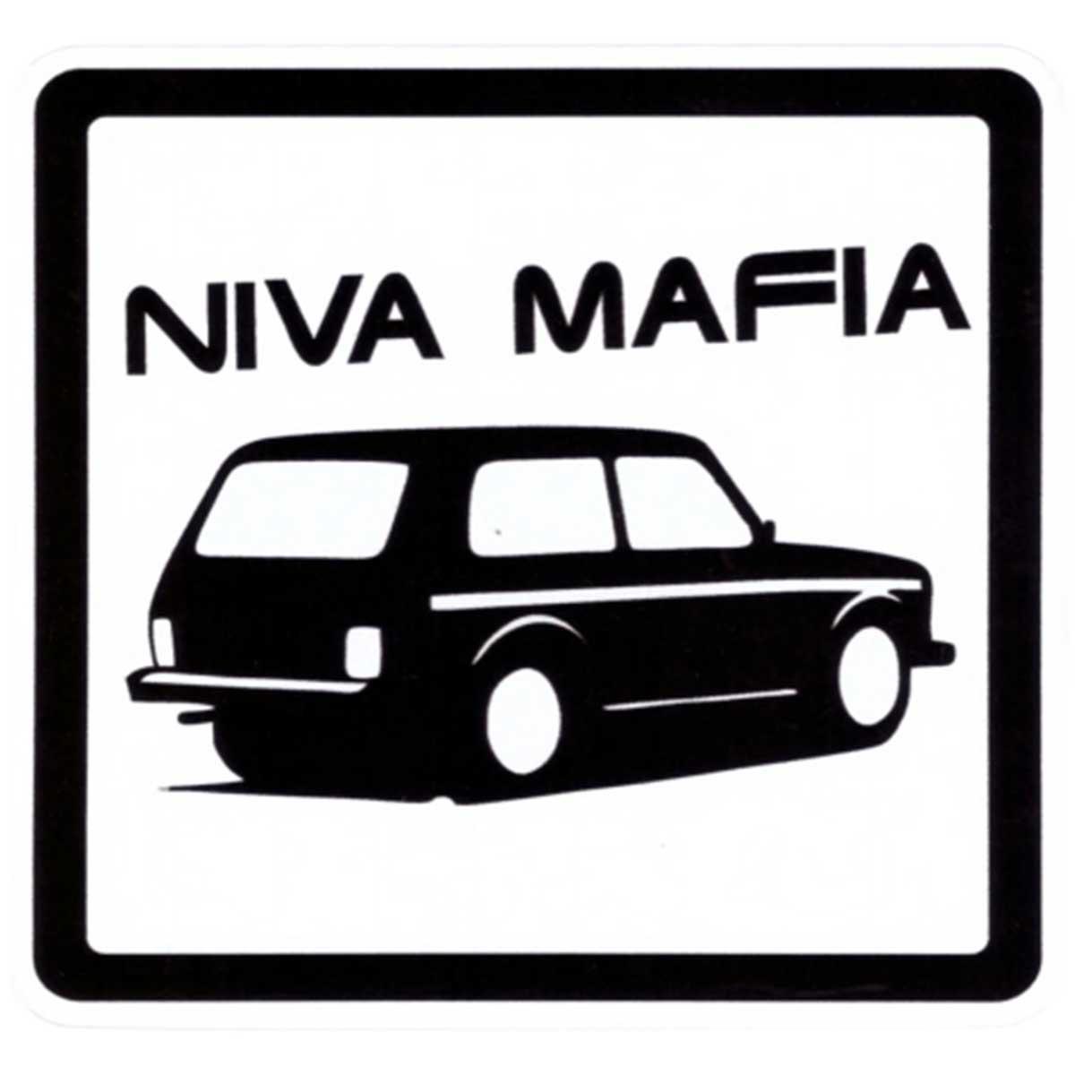 Фото - Наклейка на автомобиль Niva Mafia виниловая 15х15 наклейка инвалид в авто двухсторонняя 15х15 см