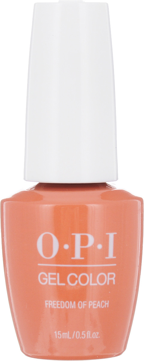 OPI Гель-лак GelColor Freedom Of Peach, 15 мл opi набор лаков measure up to color