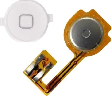 Кнопка Home в сборе со шлейфом для iPhone 3G (Белый) все цены