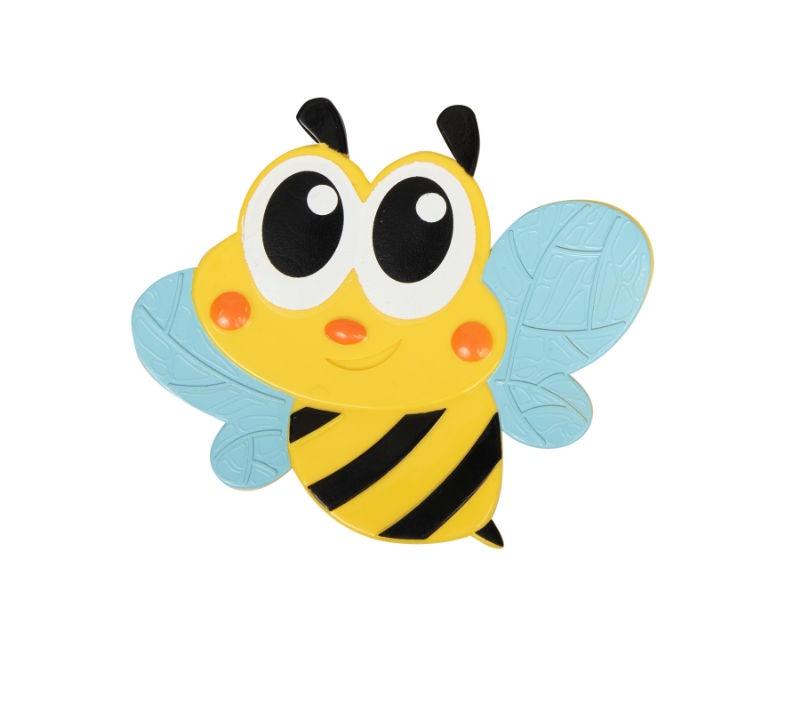 Мини-коврик для ванной комнаты ПЧЁЛКА голубые крылья