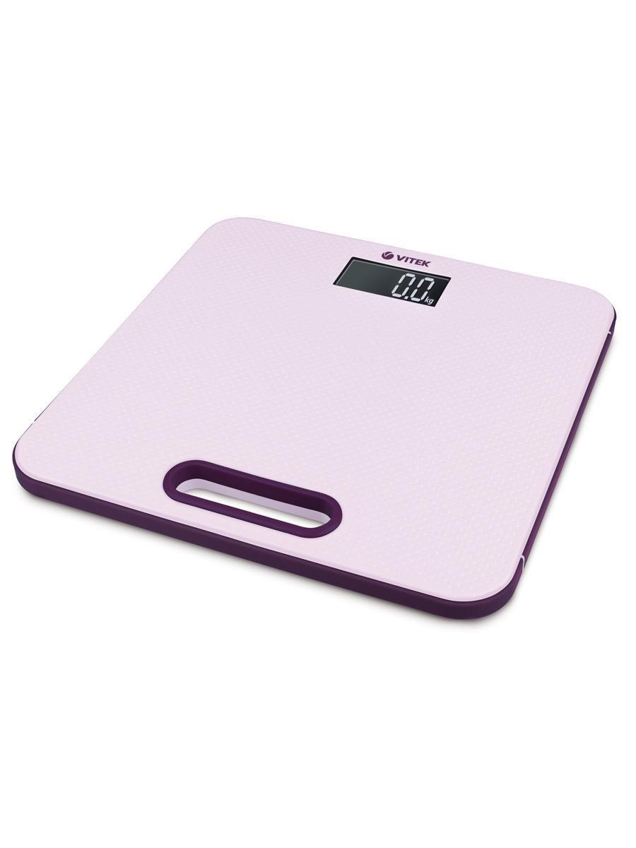 Весы напольные VITEK Максимальная нагрузка 180 кг Материал платформы пластик