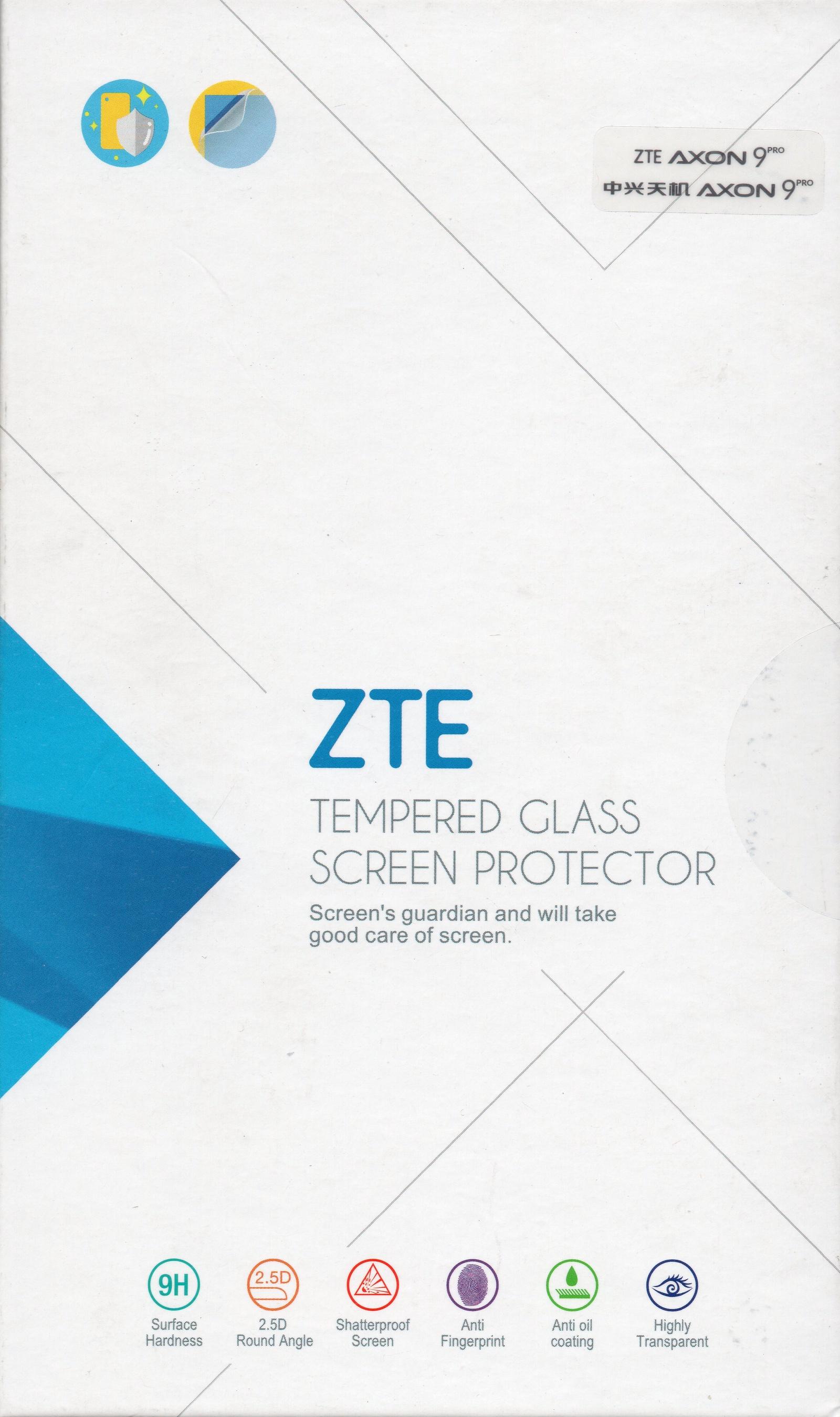 Оригинальное защитное стекло ZTE для телефона ZTE Axon 9 Pro zte планшет в подарок