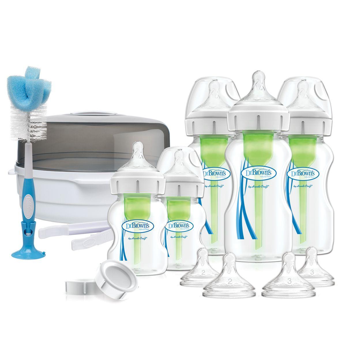 Подарочный набор бутылочек Dr. Browns Deluxe, 17 предметов