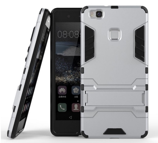 Чехол-бампер MyPads для Huawei P9 Lite / G9 / Dual Sim LTE (VNS-L21 / VNS-TL00/DL00) Противоударный усиленный ударопрочный серебристый huawei p9 lite lte dual sim black