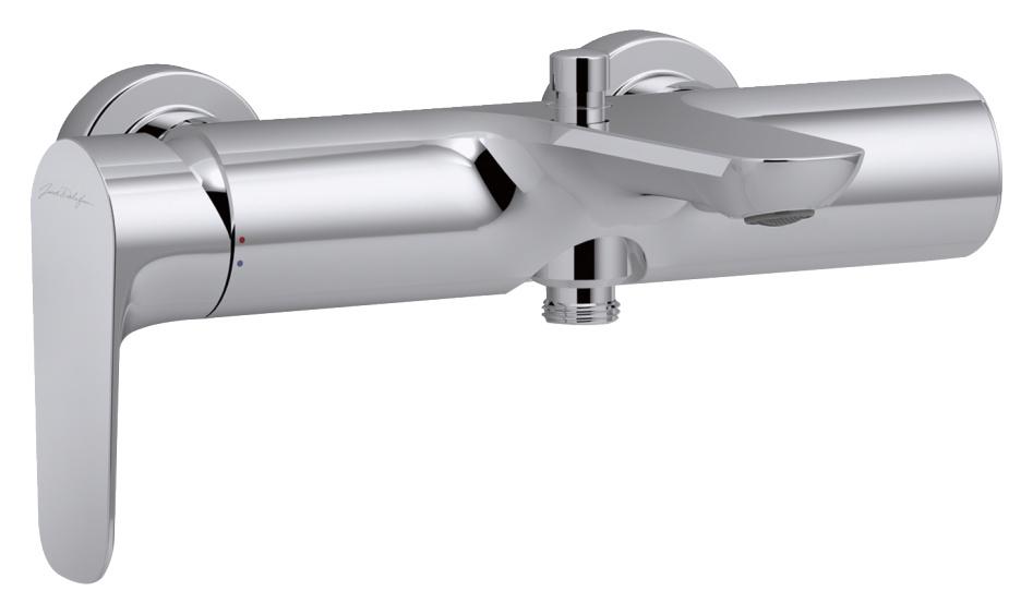 Смеситель для ванны Jacob Delafon ALEO E72282-CP смеситель для ванны коллекция aleo e72282 cp однорычажный хром jacob delafon якоб делафон