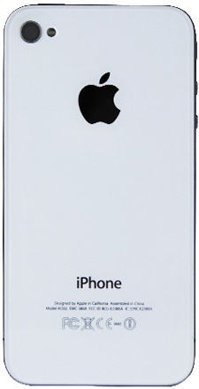 Задняя крышка для iPhone 4 (белая)