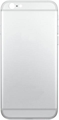 Задняя крышка для iPhone 5S в стиле 6 (белый)
