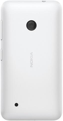 Задняя крышка для Nokia Lumia 530 (белая, оригинал)