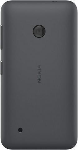Задняя крышка для Nokia Lumia 530 (черная, оригинал)
