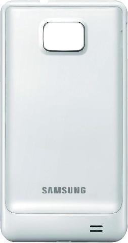 Задняя крышка для Samsung Galaxy S2 (белая, оригинал)