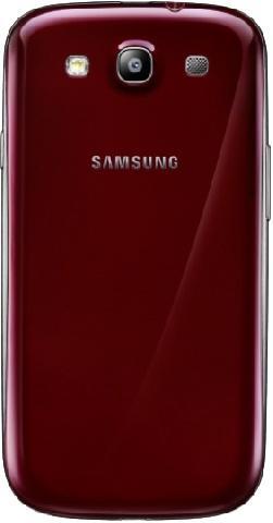 Корпус в сборе для Samsung Galaxy S3 (бордовый)