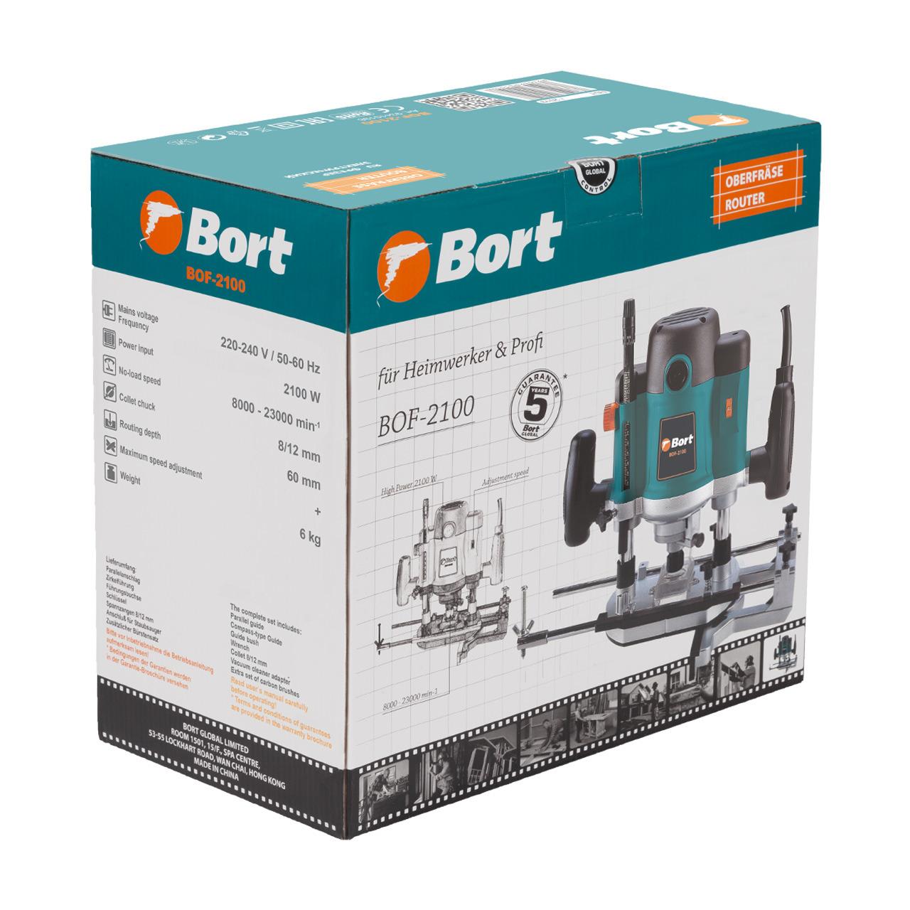 цена на Фрезер электрический Bort BOF-2100