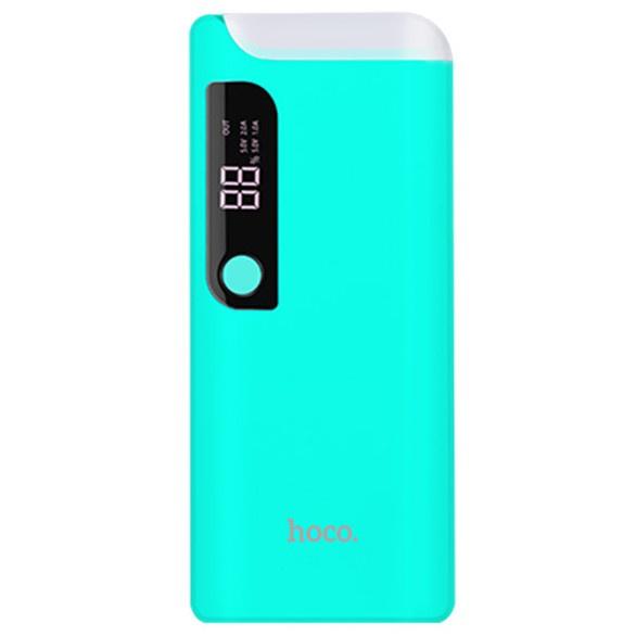 Внешний аккумулятор Hoco B27 15000mAh - Голубой