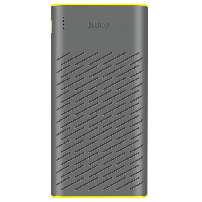Внешний аккумулятор Hoco B31A 30000mAh - Серый внешний аккумулятор hoco 5200 mah серый