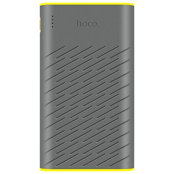 Внешний аккумулятор Hoco B31 20000mAh - Серый внешний аккумулятор hoco 5200 mah серый