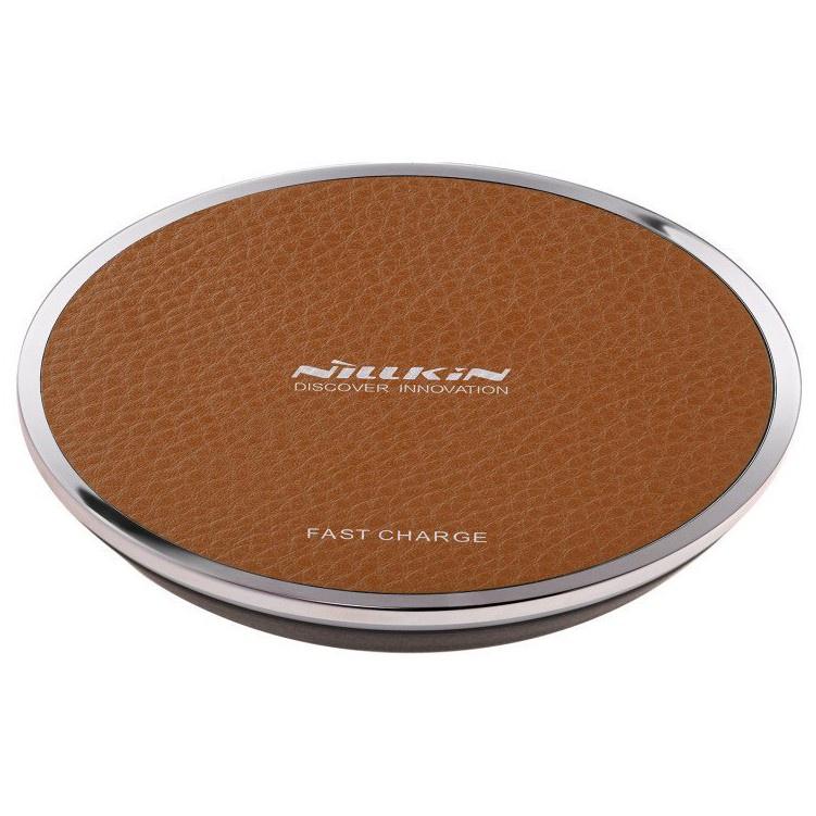 Беспроводная зарядка быстрая Nillkin Magic Disk III - Коричневая стоимость