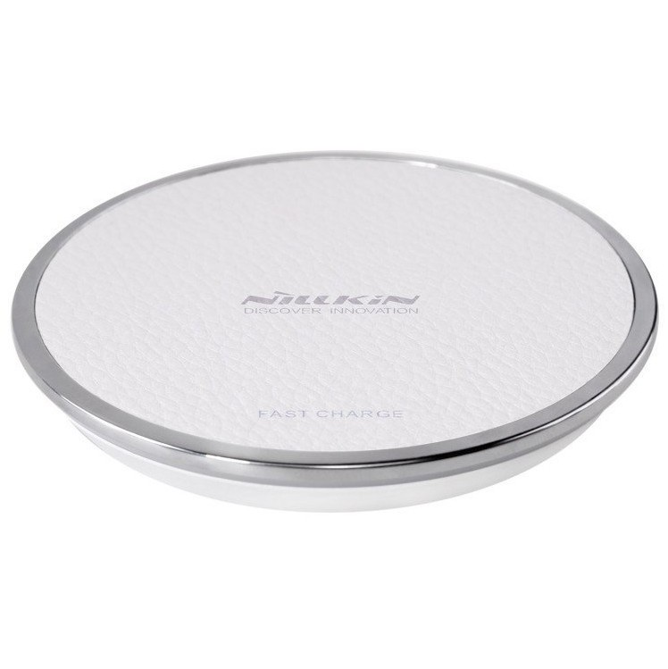 Фото - Беспроводная зарядка быстрая Nillkin Magic Disk III - Белая акустическая система беспроводная зарядка часы будильник nillkin cozy mc1