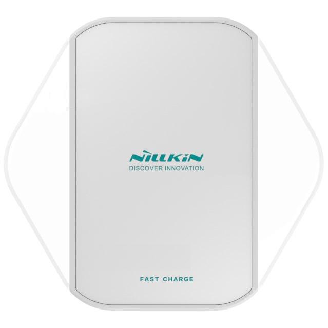 Фото - Беспроводная зарядка Nillkin Magic Cube - Белая акустическая система беспроводная зарядка часы будильник nillkin cozy mc1