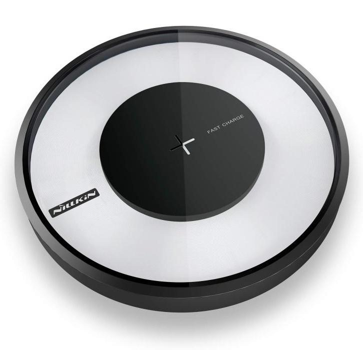 Фото - Беспроводная зарядка быстрая Nillkin Magic Disk 4 - Черная акустическая система беспроводная зарядка часы будильник nillkin cozy mc1