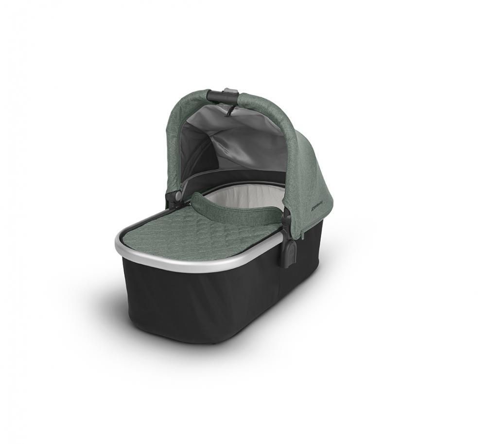 Uppababy Люлька для коляски Cruz и Vista 2018 EMMETT (sage-army green melange) зеленый меланж uppababy vista cruz samantha