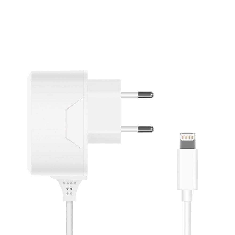 СЗУ 8-pin для Apple, 1A, белый, Prime Line