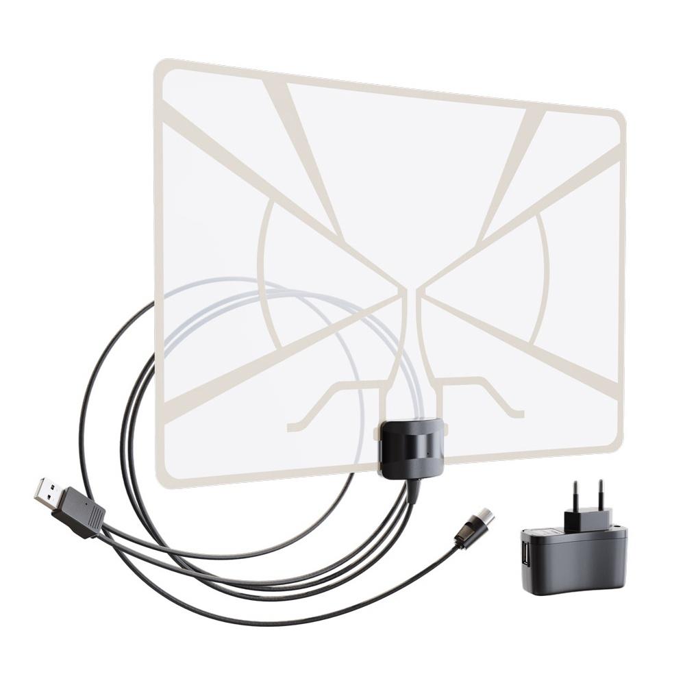 Антенна комнатная с усилителем РЭМО BAS-5324-DX (DVB-T2)