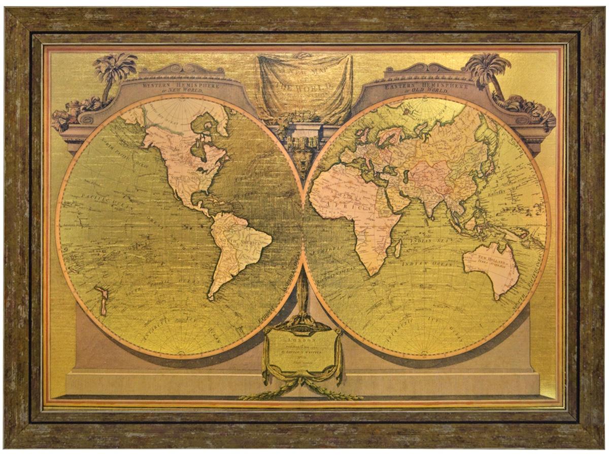 """Картина 50х70 """"Карта"""""""