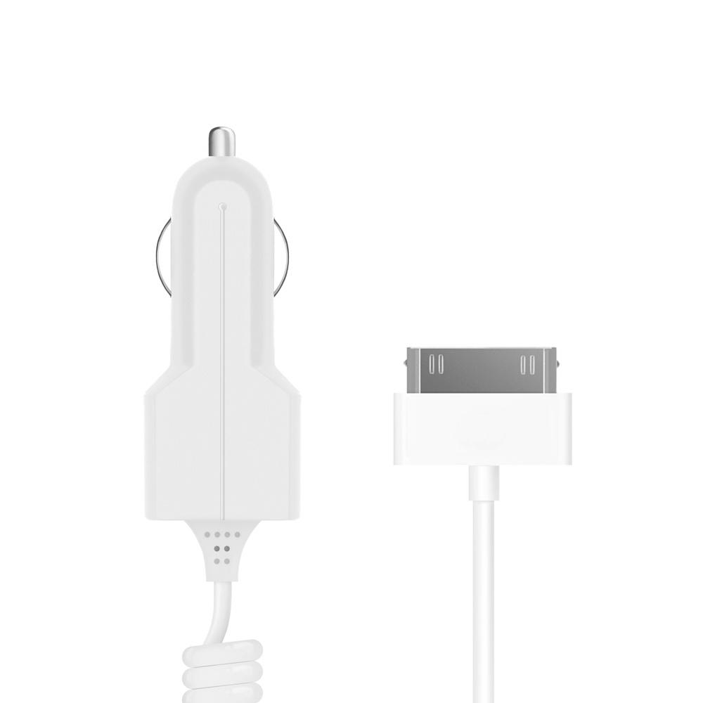 АЗУ 30-pin для Apple, 1A, белый, Prime Line