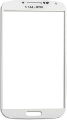 Защитное стекло для Samsung Galaxy S4 (белый)