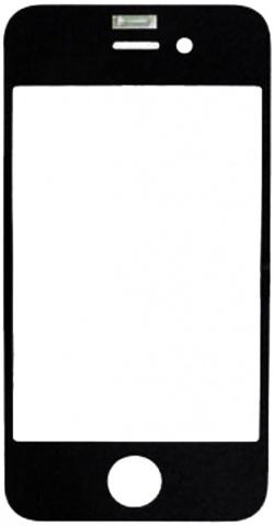 Защитное стекло для iPhone 4 (чёрный) kyotsu jingxiu wizard 4 специальное защитное кольцо с быстрым выпуском