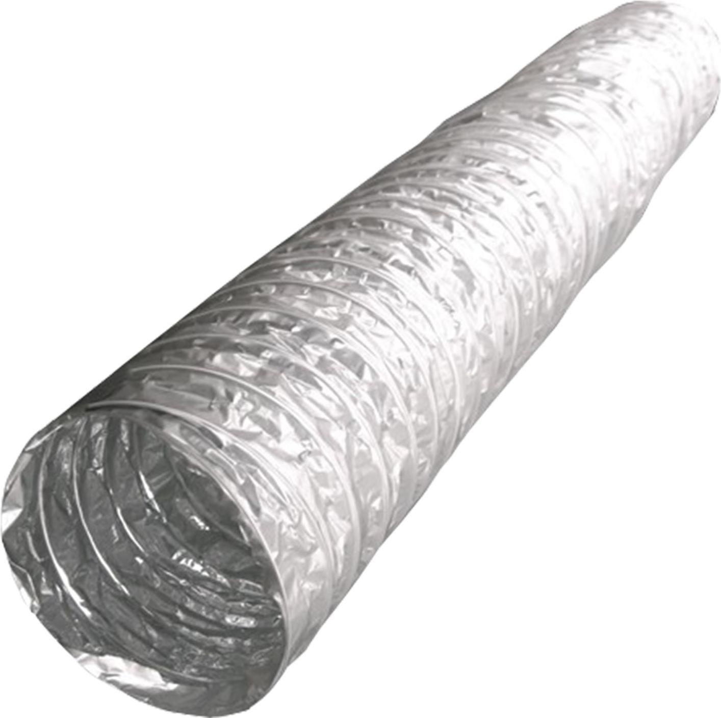 Фото - Гибкий воздуховод ERA, AF102, металл, армированный, длина до 10 м воздуховод ванвент впа 125 гибкий алюминиевый 3м