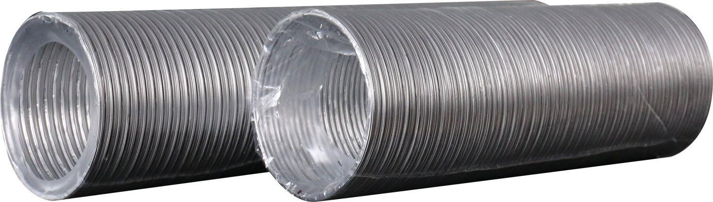 Фото - Гибкий воздуховод ERA, 16ВА, металл, гофрированный, до 3 м воздуховод ванвент впа 125 гибкий алюминиевый 3м