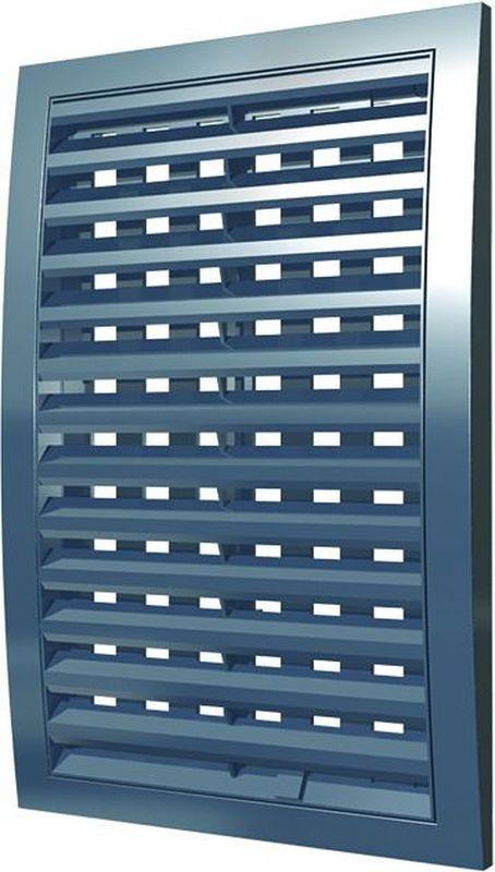 Вентиляционная решетка Street Line, 1515РРПН, серый, наружная, регулируемая, 15 х см