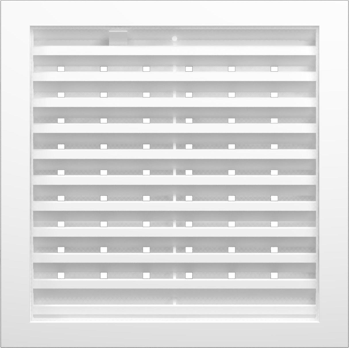 Вентиляционная решетка Street Line, 3535РРПН, белый, наружная, регулируемая, 35 х см