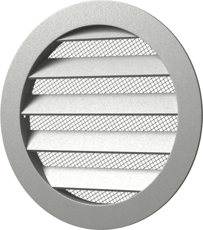 Вентиляционная решетка Street Line, 12,5РКМ, белый, круглая, с фланцем