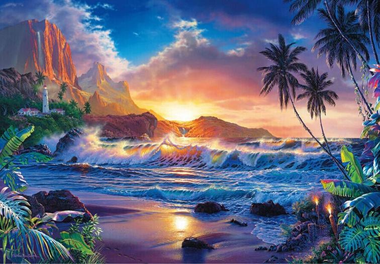 Поздравления, открытки с пейзажами природы анимация