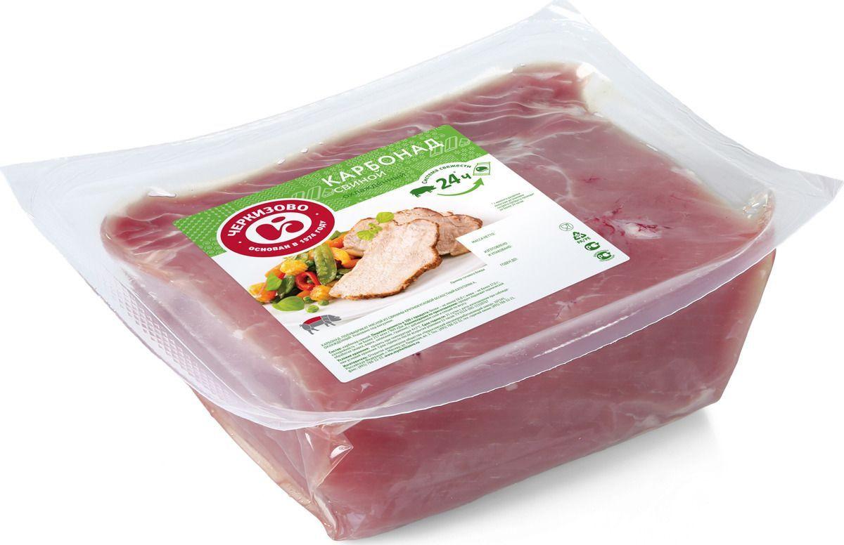 Свинина свежая Черкизово Карбонад, охлажденная, 1,1 кг