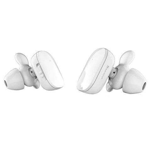 Bluetooth-наушники Baseus Encok W02 TWS - Белые наушники baseus наушники беспроводные baseus encok w02 белые baseus encok w02 белый