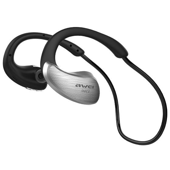 Bluetooth-наушники Awei A885BL - Silver awei a885bl gray 09213