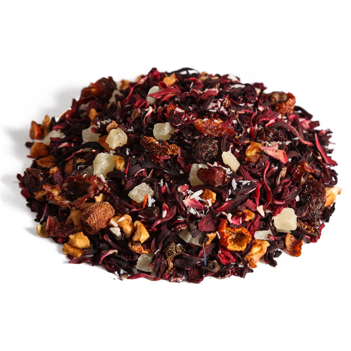 Чайный напиток Первая Чайная Компания Пина Колада, травяной, 100 г imperial tea beauty fitness напиток чайный 100 г