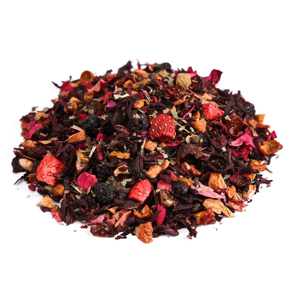 Чайный напиток Первая Чайная Компания Клубника со сливками, травяной, 100 г imperial tea beauty fitness напиток чайный 100 г