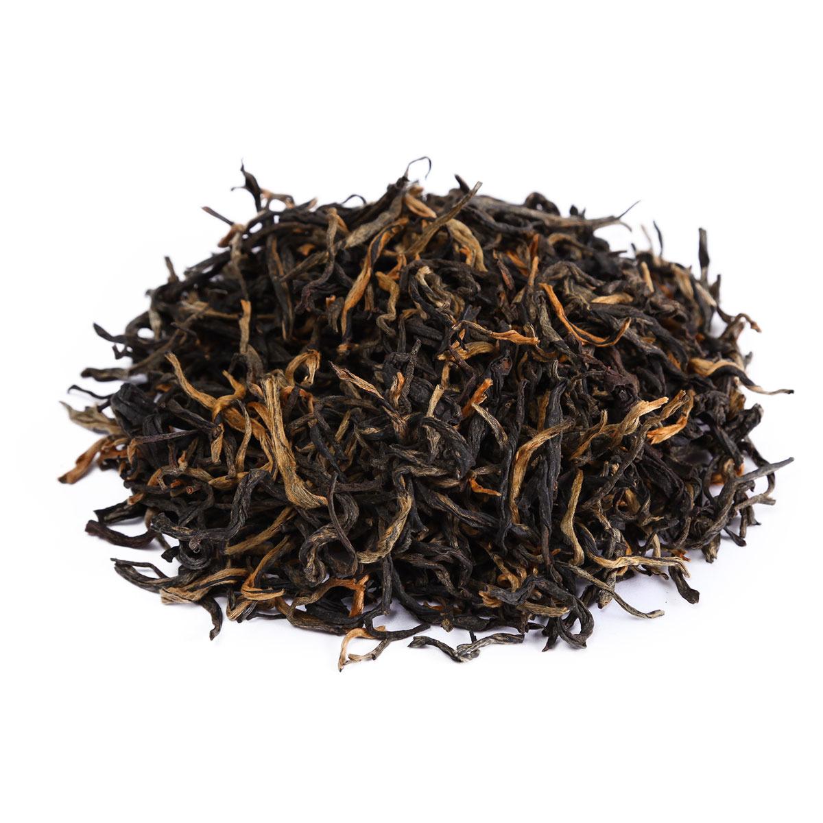 Чай листовой Первая Чайная Компания Дянь Хун Красный чай с земли Дянь, красный, 100 г типсовый дянь хун op