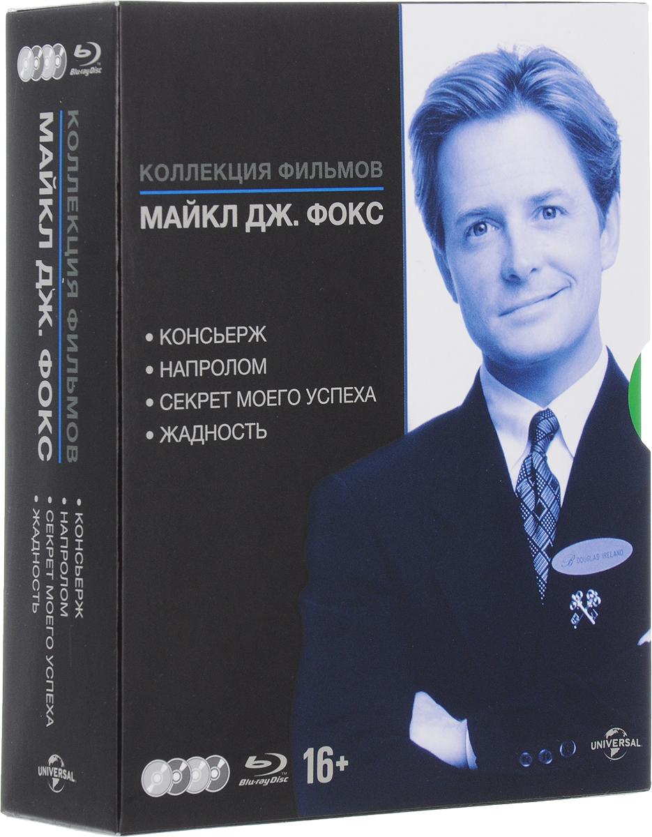 Коллекция фильмов М.Дж Фокса (4 Blu-ray) драматическая коллекция 4 blu ray
