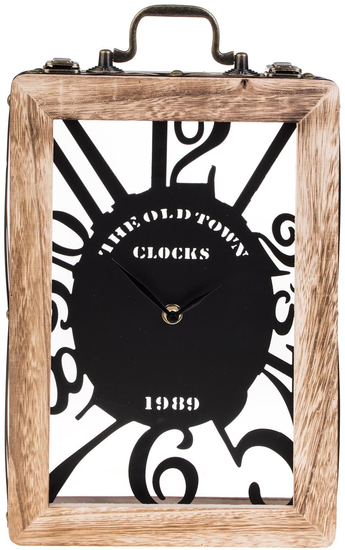 Фото - Настольные часы Красный куб Чемоданчик часы настольные и настенные