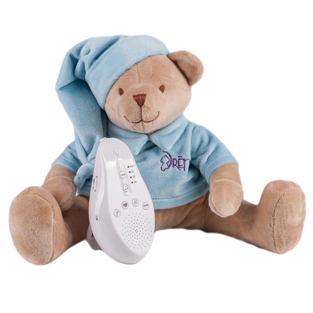 DrЁma Игрушка-комфортер для сна Мишка голубой