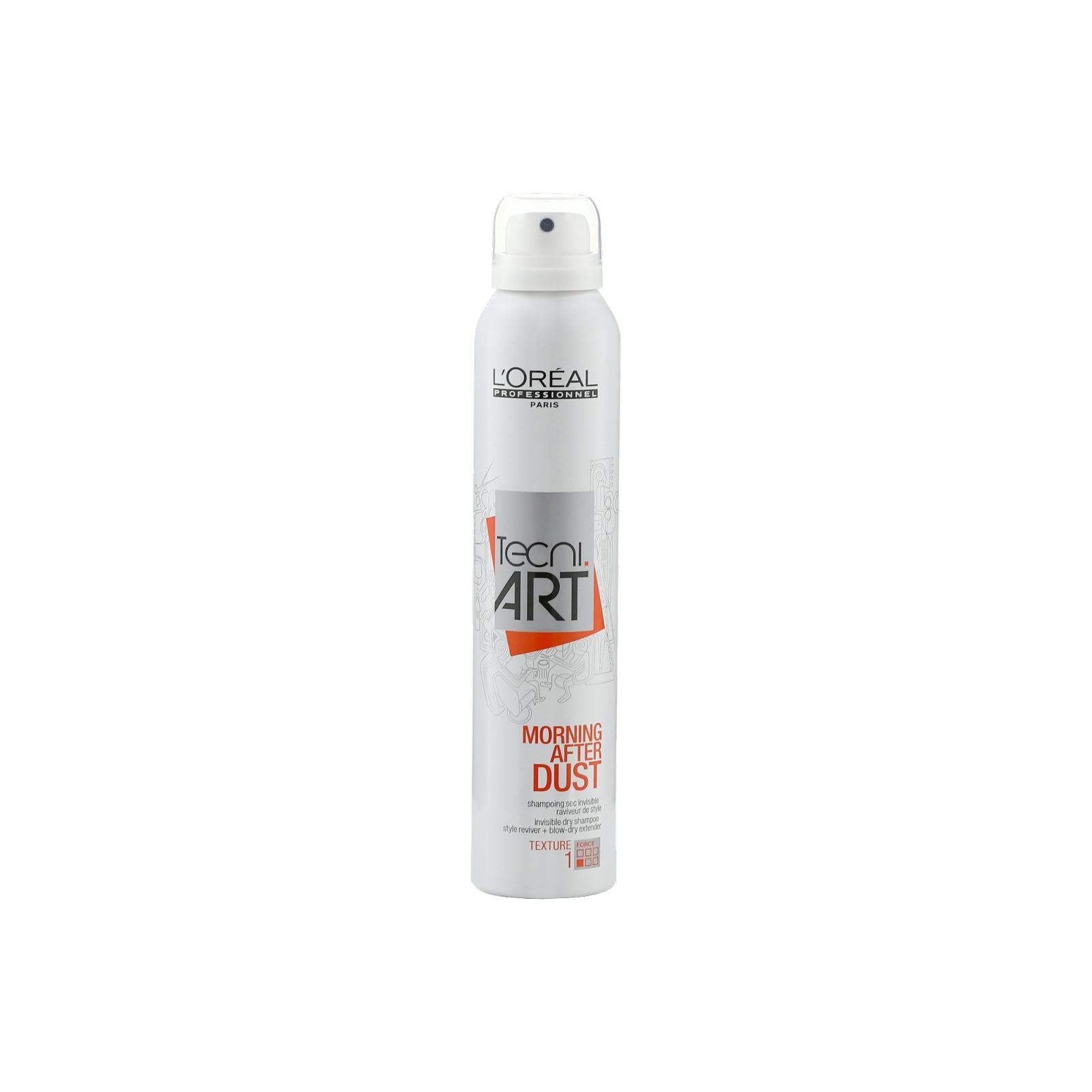 Сухой шампунь для волос L'Oreal Professionnel Tecni.Art Morning After Dust, для свежести и комфорта, 200 мл химия для волос щадящая