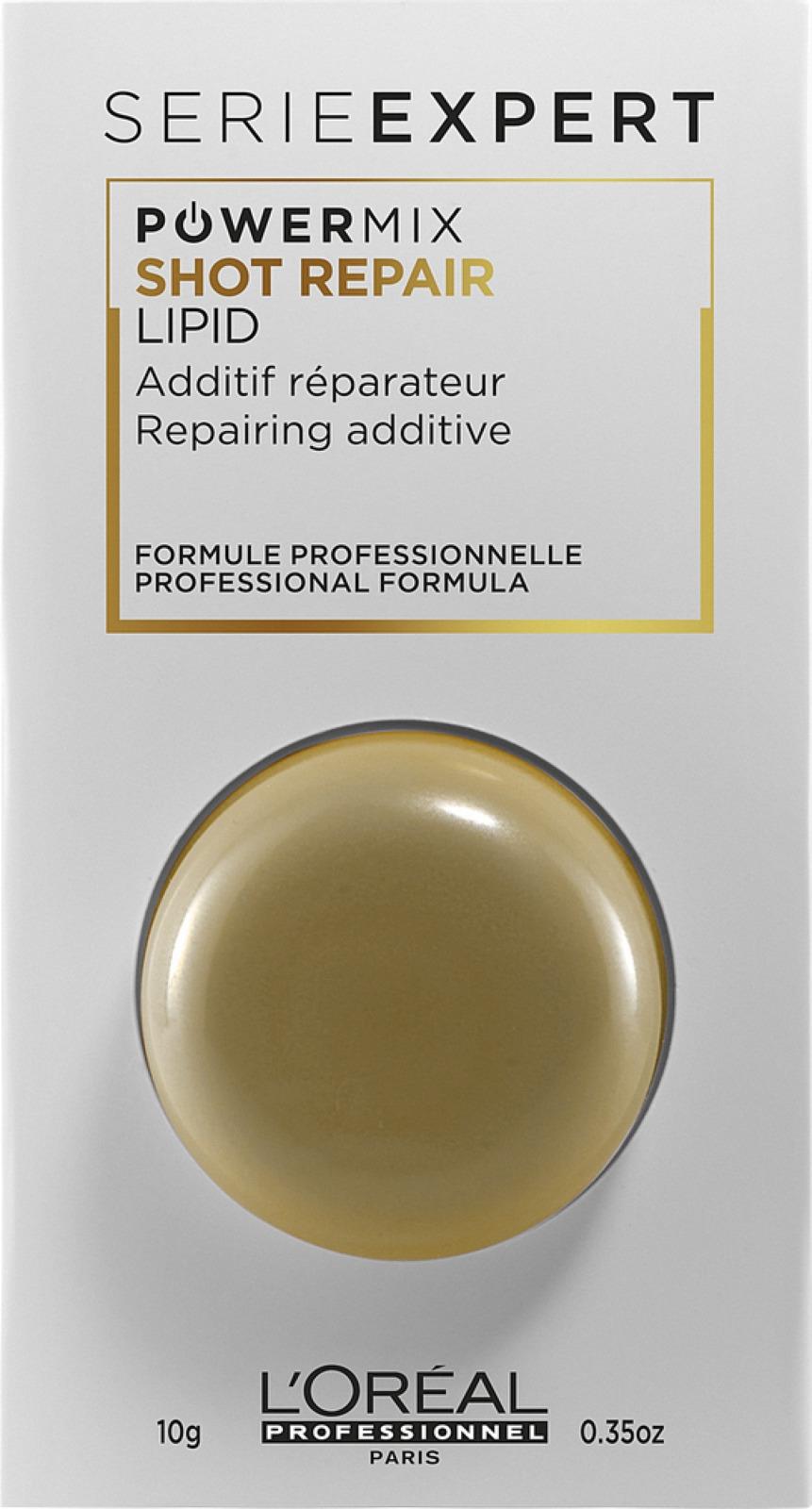 Шот для волос L'Oreal Professionnel Serie Expert Absolut Repair Lipidium, для восстановления и питания, 10 мл сыворотка absolut repair lipidium цена