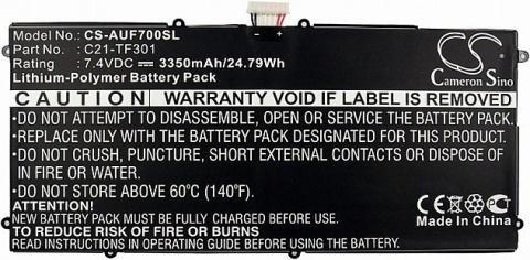 Аккумулятор для Asus Eee Pad Transformer TF700T Infinity (C21-TF301, C21-TF500T) пленка защитная red line для asus eee pad transformer tf300