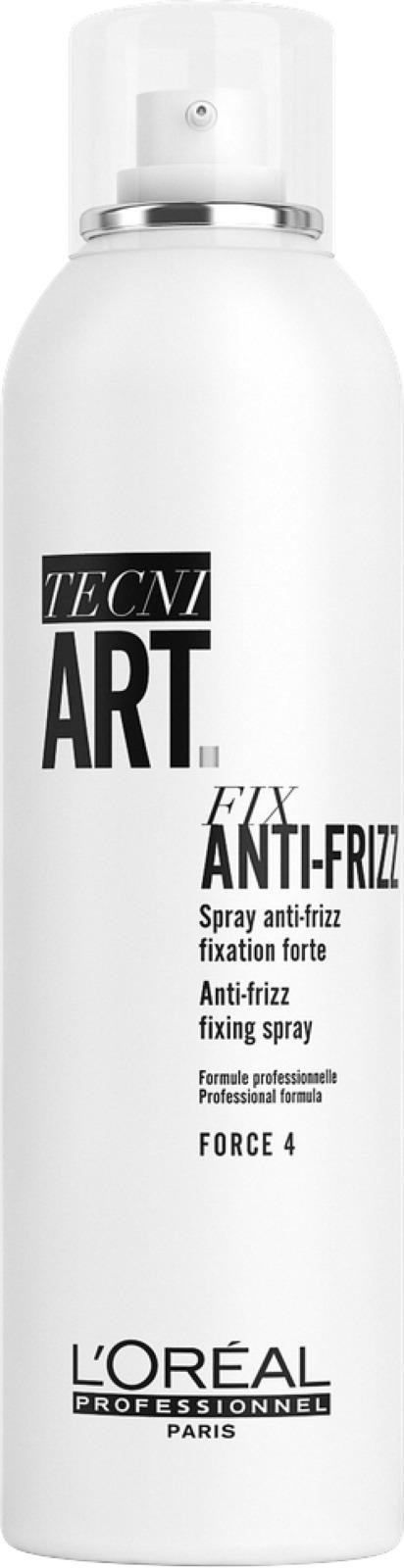 Спрей сильной фиксации с защитой от влаги и УФ-лучей L'Oreal Professionnel Tecni.Art Fix Anti-Frizz, 250 мл
