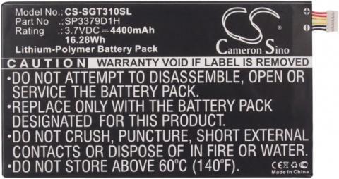 Аккумулятор для Samsung Galaxy Tab 3 8.0 SM-T310, SM-T311, SM-T315, Tab Pro 8.4 SM-T320 (SP3379D1H) sm t585nzkaser